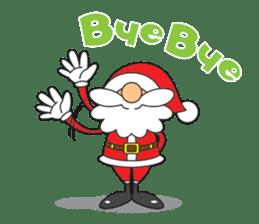 Lazy Santa Claus sticker #2671998