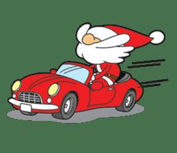 Lazy Santa Claus sticker #2672001