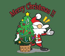 Lazy Santa Claus sticker #2672005