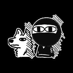Ninja-kun&Ninja-dog