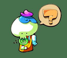 Happy ghosts sticker sticker #2673534