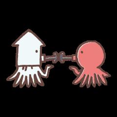 Squid&Octopus-ver.o