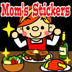 Mom's Stickers (English ver.)
