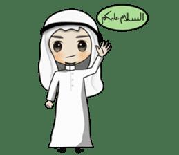 Arab guy , Keffiyeh lover (Arabic ver.) sticker #2678091