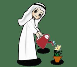 Arab guy , Keffiyeh lover (Arabic ver.) sticker #2678104