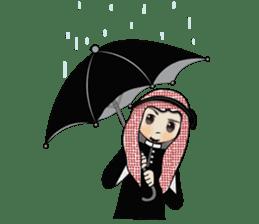 Arab guy , Keffiyeh lover (Arabic ver.) sticker #2678107