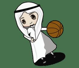 Arab guy , Keffiyeh lover (Arabic ver.) sticker #2678109