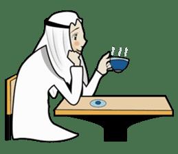Arab guy , Keffiyeh lover (Arabic ver.) sticker #2678116