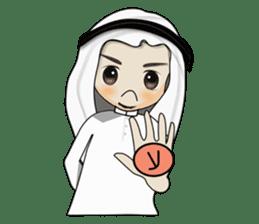 Arab guy , Keffiyeh lover (Arabic ver.) sticker #2678117