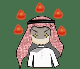 Arab guy , Keffiyeh lover (Arabic ver.) sticker #2678119