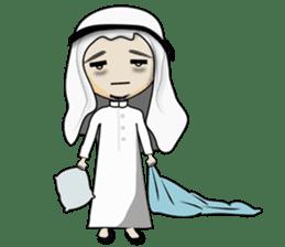 Arab guy , Keffiyeh lover (Arabic ver.) sticker #2678124