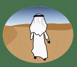 Arab guy , Keffiyeh lover (Arabic ver.) sticker #2678127