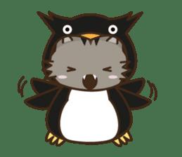 Cat wanna be Penguin sticker #2682739