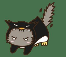 Cat wanna be Penguin sticker #2682741