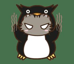 Cat wanna be Penguin sticker #2682742