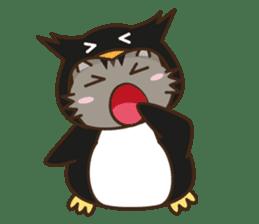 Cat wanna be Penguin sticker #2682748