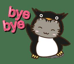 Cat wanna be Penguin sticker #2682749