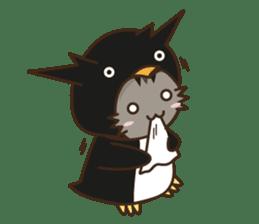 Cat wanna be Penguin sticker #2682752