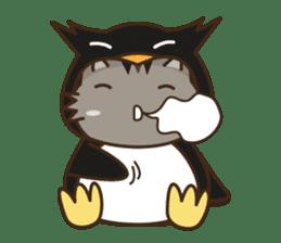 Cat wanna be Penguin sticker #2682754