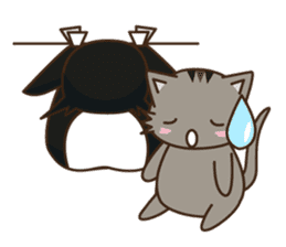 Cat wanna be Penguin sticker #2682755
