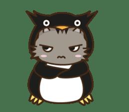 Cat wanna be Penguin sticker #2682762