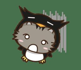 Cat wanna be Penguin sticker #2682763
