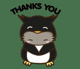 Cat wanna be Penguin sticker #2682767
