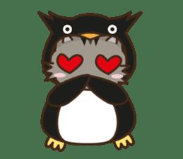 Cat wanna be Penguin sticker #2682769
