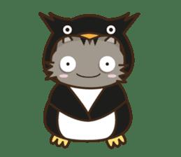 Cat wanna be Penguin sticker #2682772