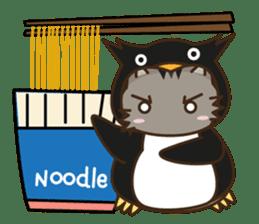 Cat wanna be Penguin sticker #2682774