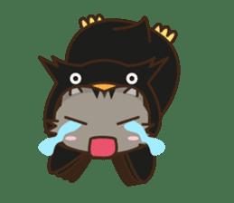 Cat wanna be Penguin sticker #2682775