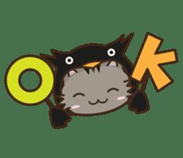 Cat wanna be Penguin sticker #2682778