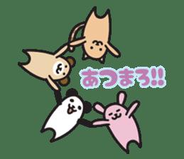 Kansai dialect animal stamp sticker #2683401