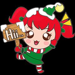 Mira, christmas girl
