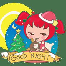 Mira, christmas girl sticker #2685898