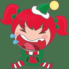 Mira, christmas girl sticker #2685899