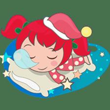 Mira, christmas girl sticker #2685912