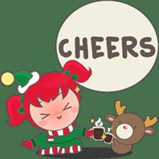 Mira, christmas girl sticker #2685920