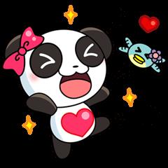 Ponty the funny panda