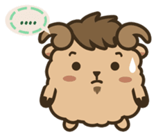 Cute Zodiac : Aries sticker #2687651