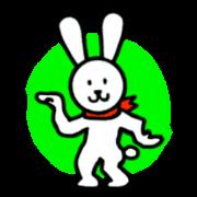 สติ๊กเกอร์ไลน์ The welcomed rabbit