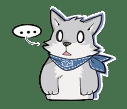 Gray wolf sticker #2694073