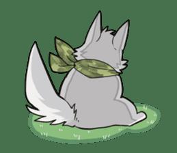 Gray wolf sticker #2694076