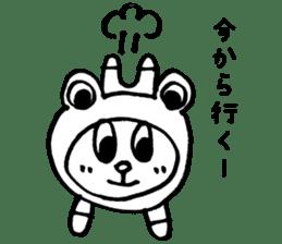 Kaeru-Kuma 2 sticker #2702003