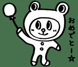 Kaeru-Kuma 2 sticker #2702016