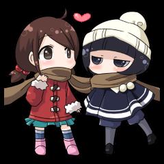 Girls winter vacation