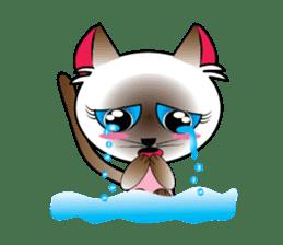 Baby Cat pink pink sticker #2709460