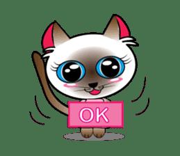 Baby Cat pink pink sticker #2709461