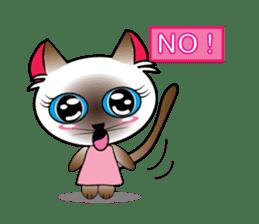 Baby Cat pink pink sticker #2709462