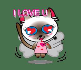 Baby Cat pink pink sticker #2709466